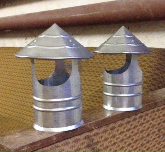 Грибок на дымоходную трубу. Фото 1. Новодвинск.