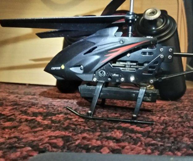 Вертолет с камерой. Фото 1. Магнитогорск.