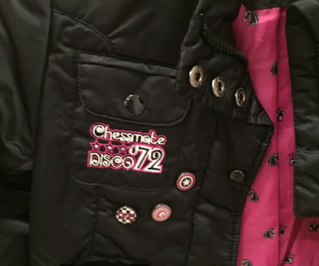 Куртка для девочки в стиле монстр хай. Фото 2. Санкт-Петербург.