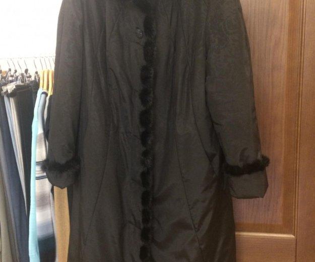 Новое пальто пуховик 54-56 размер. Фото 1. Москва.