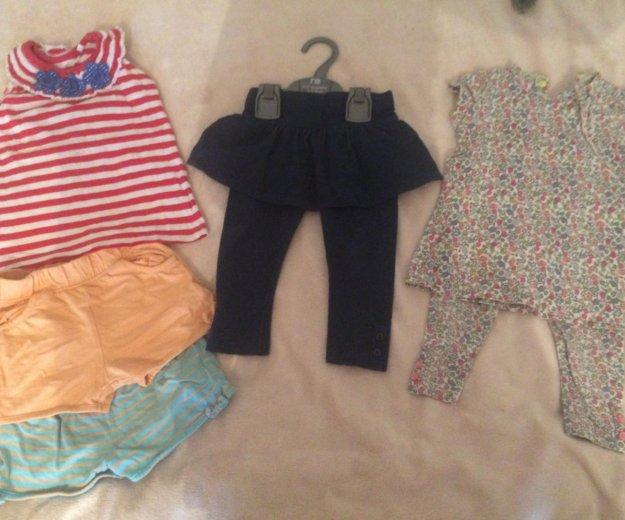 Пакет вещей для девочки 74-86. Фото 2. Одинцово.