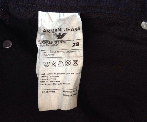 Джинсы  'закос' под armani jeans ). Фото 3. Белгород.