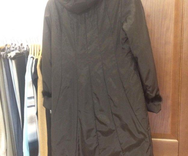 Новое пальто пуховик 54-56 размер. Фото 2. Москва.