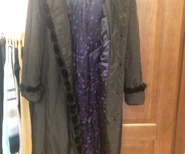 Новое пальто пуховик 54-56 размер. Фото 3. Москва.