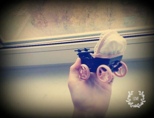Маленькая коляска для куколки. Фото 3. Санкт-Петербург.