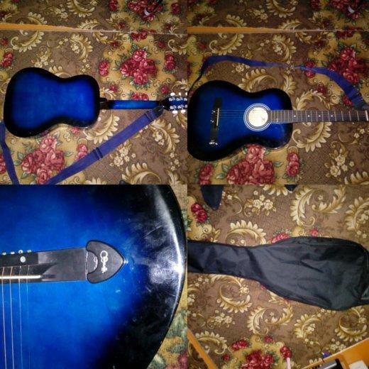 Акустическая гитара. Фото 1. Сковородино.