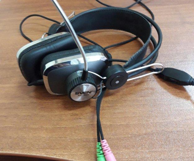 Наушники с микрофоном sven ap-600. Фото 1. Москва.
