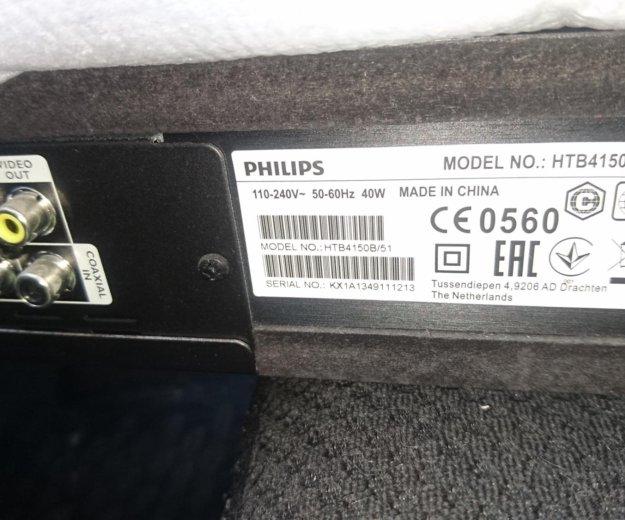 Philips htb4150/b50,блютуз,usb,hdmi. Фото 1. Сочи.