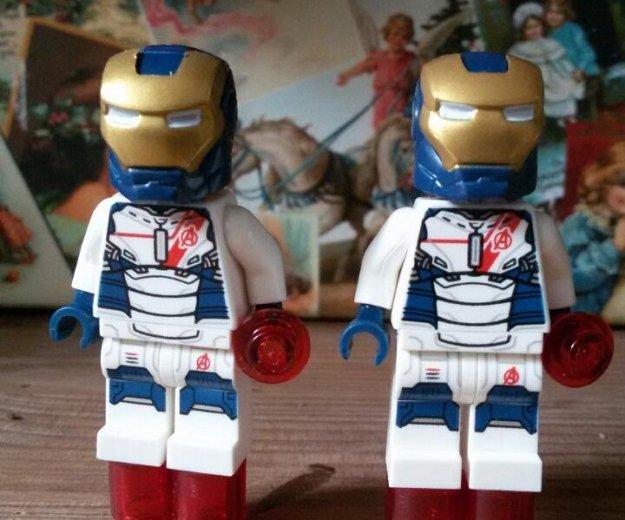 Лего железный человек 3-шт. Фото 1. Троицк.