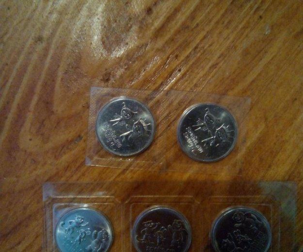 Монеты сочи 2014. Фото 1. Иркутск.