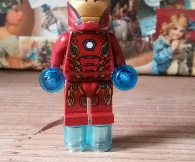 Лего железный человек 3-шт. Фото 2. Троицк.