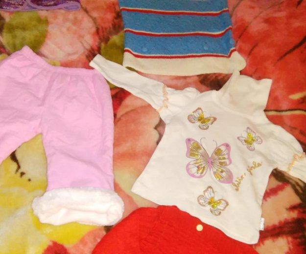 Пакет зимней одежды для девочки. Фото 1.