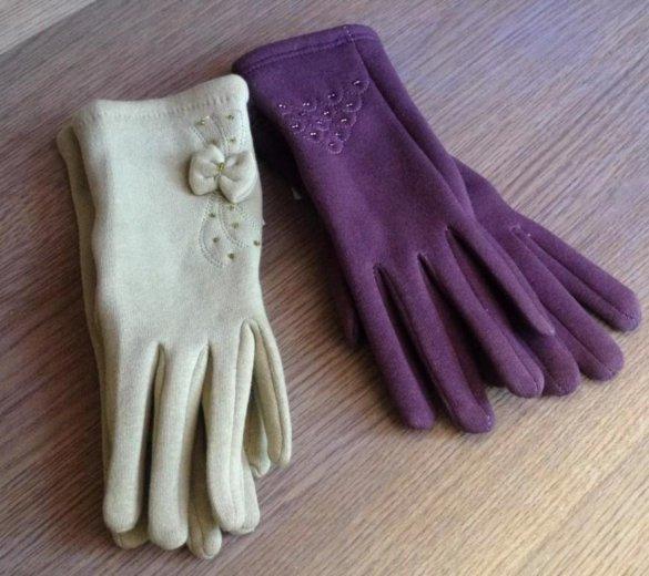 Перчатки фетр новые. Фото 1. Артем.