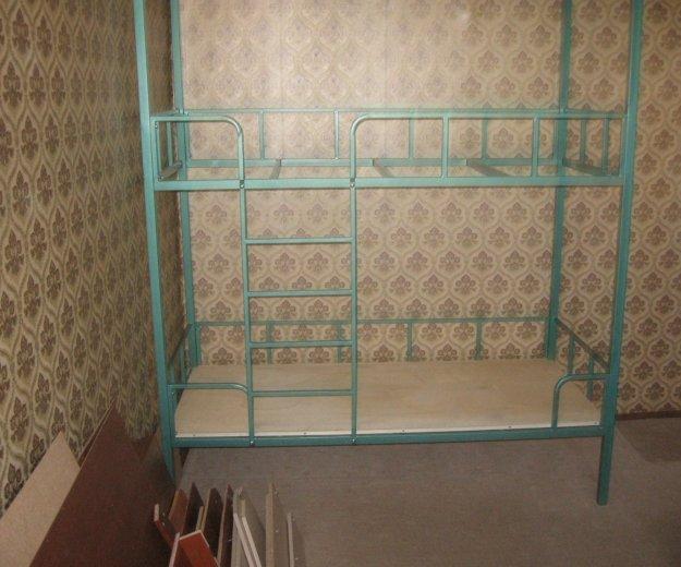 Кровать двухьярусная металлическая. Фото 1. Ярцево.