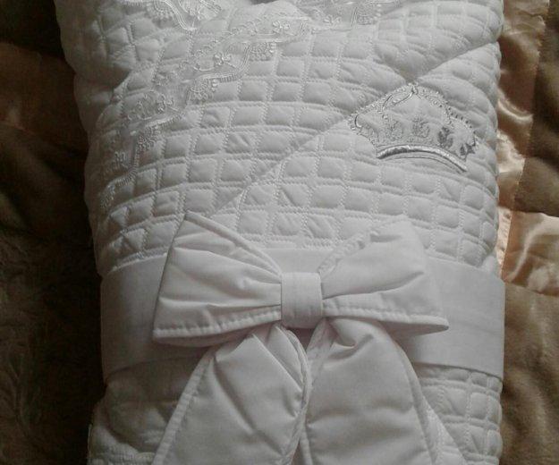 Конверт-одеяло на выписку. Фото 3. Ступино.