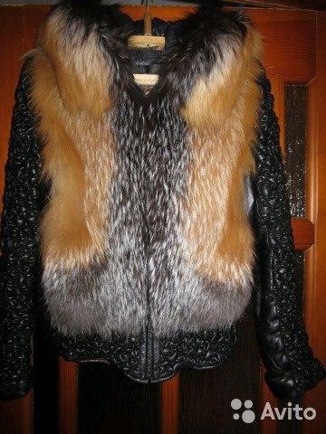 Куртка из натуральной кожи с мехом. Фото 2. Киров.