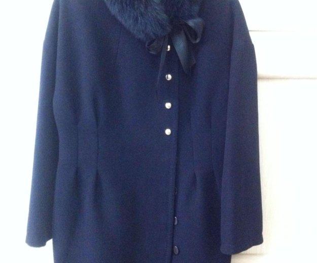 Женское утепленное пальто. Фото 1. Биокомбината.