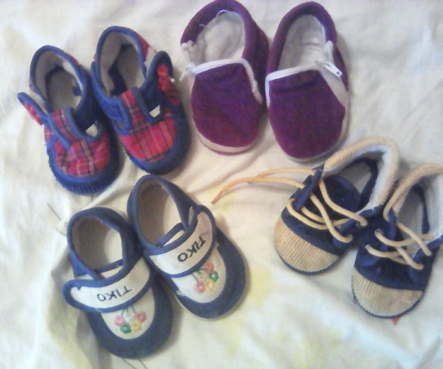 Обувь на малышку. Фото 1. Ярославль.