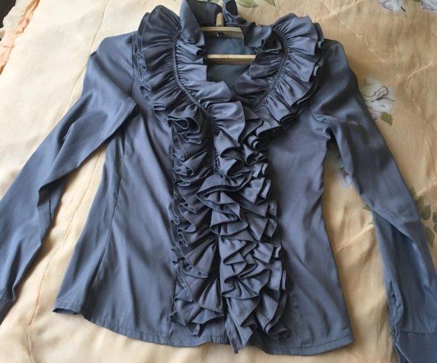 Блузка с рюшами. Фото 1. Чалтырь.