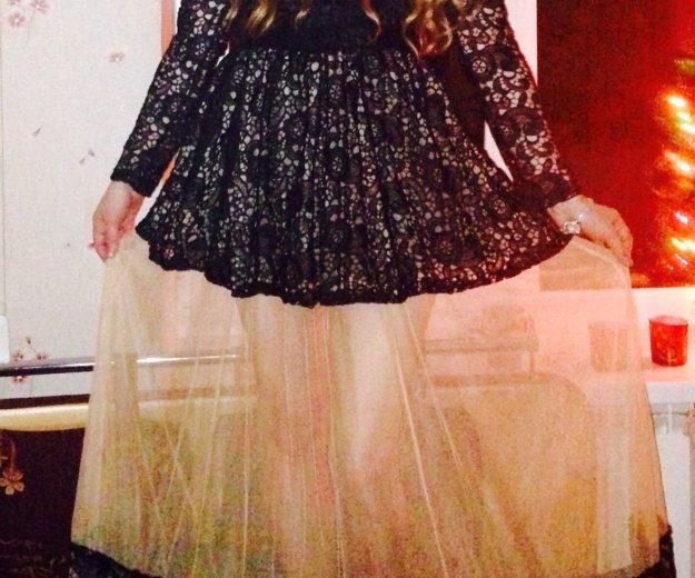 Шикарное кружевное длинное платье. Фото 2. Санкт-Петербург.
