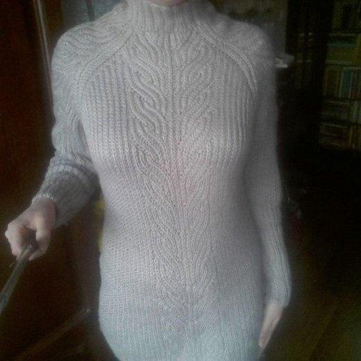 Вязаный свитер ручной работы. Фото 2. Чебоксары.