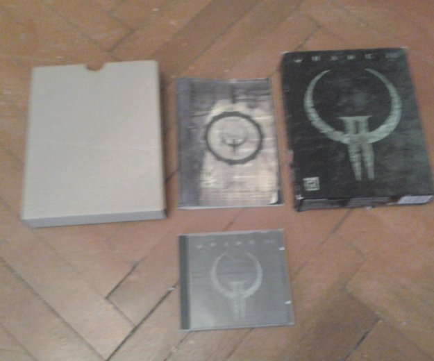Quake 2 big box 1997. Фото 1. Санкт-Петербург.