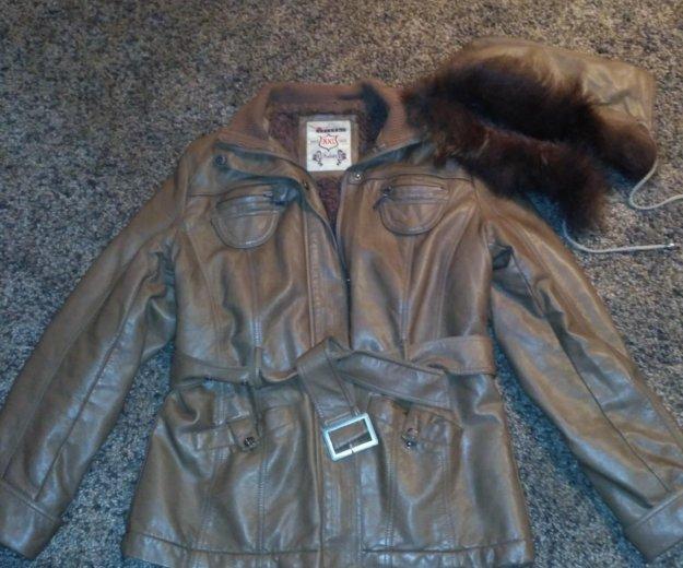 Куртка зима на меху размер 46-48. Фото 1. Смоленск.