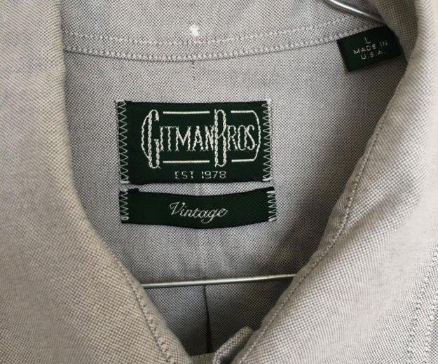 Gitman bros рубашка б/у размер l. Фото 4. Москва.