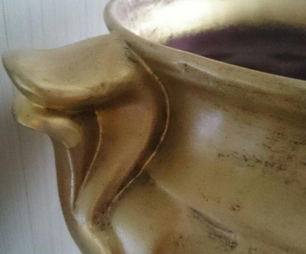 Керамическое кашпо, ваза. италия. торг!. Фото 1. Тольятти.