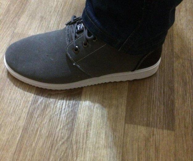 Кеды на меху /ботинки/ мужские новые р-р 43. Фото 3. Комсомольск-на-Амуре.