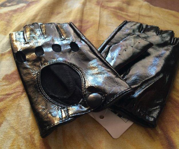 Перчатки кожа. Фото 1.