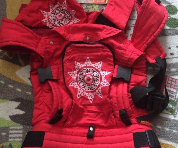 Эргорюкзак гусленок (аркаим красный) универсал. Фото 1. Динская.