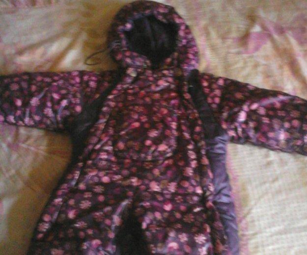 Продам болоневый комбинезон на девочку осень весна. Фото 1. Пермь.