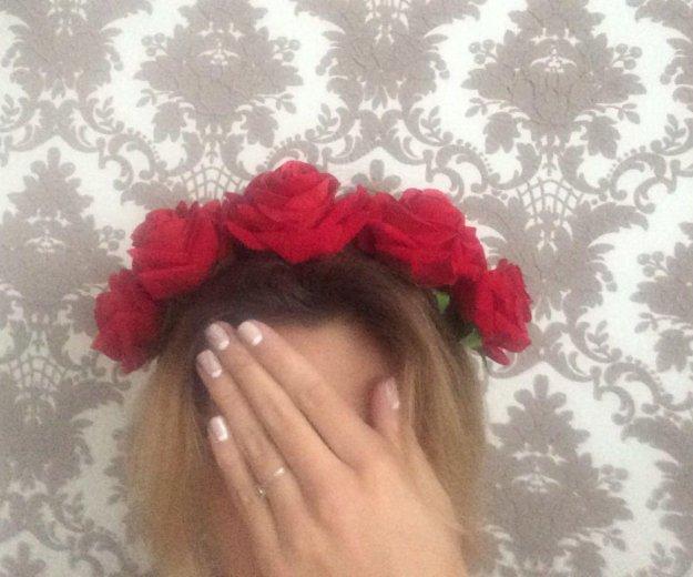 Ободок из роз. Фото 2. Чайковский.