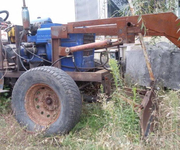 Самодельный трактор. Фото 1. Волгоград.