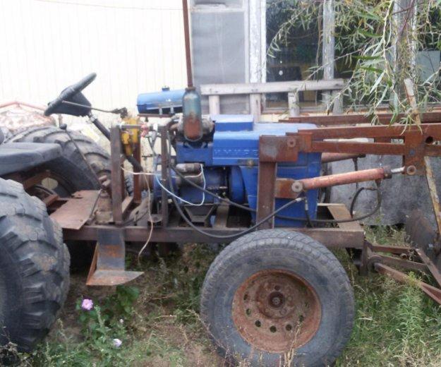 Самодельный трактор. Фото 2. Волгоград.