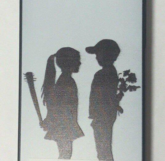 "Чехол на iphone 5/5s ""девочка и мальчик"". Фото 1. Санкт-Петербург."