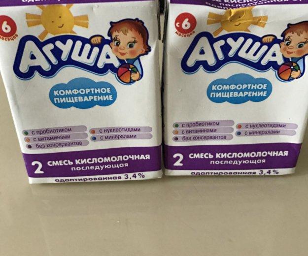 Агуша кисломолочная. Фото 1.