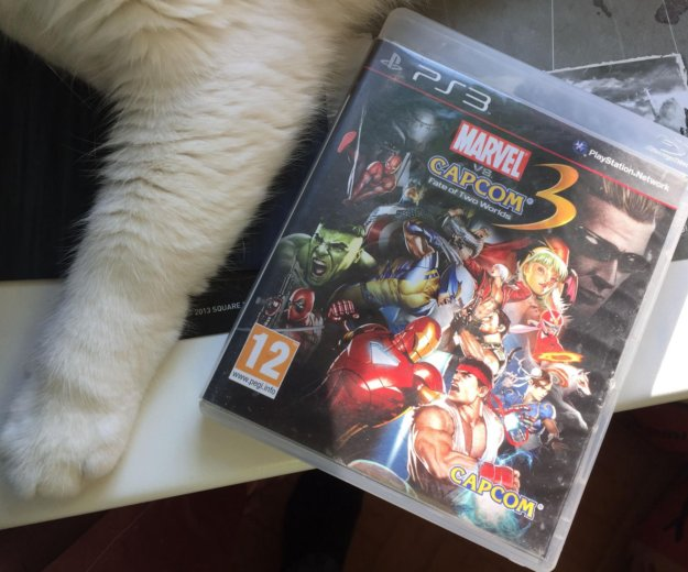 Marvel vs. capcom 3: fate of two worlds ps3. Фото 1. Москва.