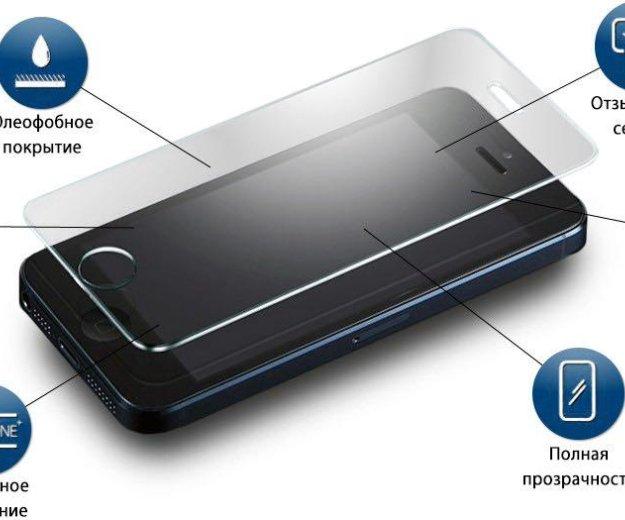 Установка защитных стёкол на iphone. Фото 1. Алушта.
