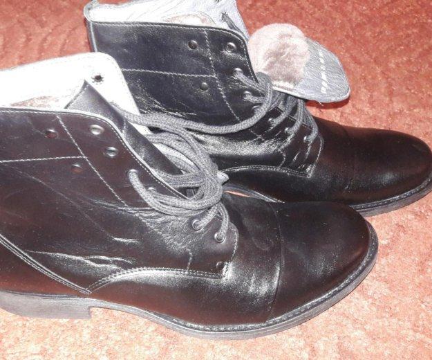 Мужские зимние ботинки. Фото 2. Калининград.