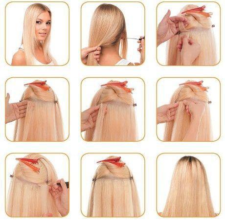 Ленточное наращивание волос!. Фото 3. Краснодар.