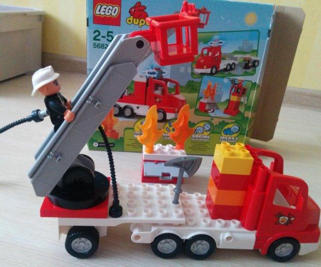 Лего пожарная машина. Фото 1. Зеленоград.