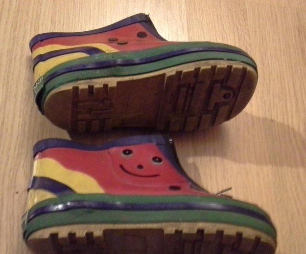 Ботиночки резиновые. Фото 1. Москва.