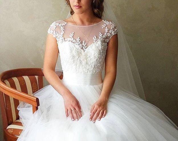 Свадебное платье oksana mukha. Фото 1. Иваново.
