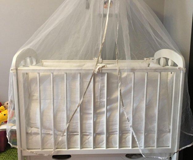 Детская кроватка. Фото 1. Люберцы.