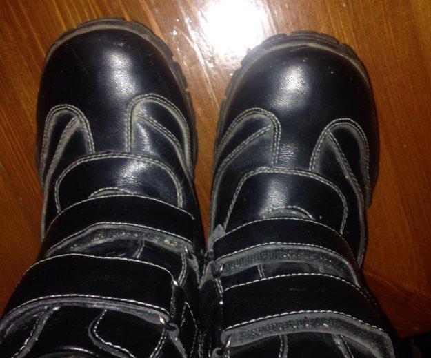 Ботинки зима 32 рр юничел. Фото 1.