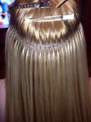 Капсульное наращивание волос!. Фото 2. Краснодар.