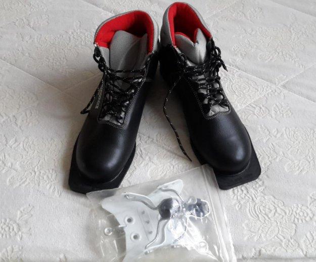 Ботинки лыжные р40. Фото 1. Красногорск.