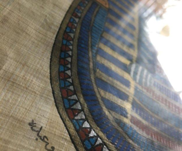 Папирус в рамке большой. Фото 2. Санкт-Петербург.